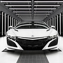 New NSX at Pauly Acura